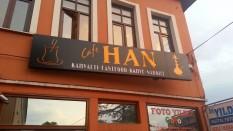 Han Cafe Işıklı Tabela